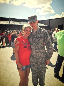 My son graduated from the Air Force- so proud of him!